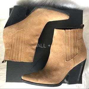 Kendall + Kylie Colt Medium Brown Suede Boots